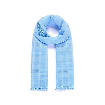 Intrigue Womens/Ladies Check Dyed Narrow Scarf