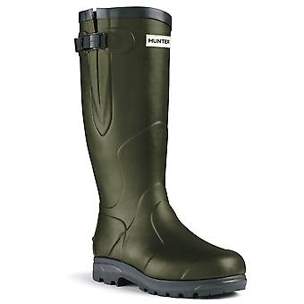 Hunter Unisex Balmoral Classic Wellington Boot - Olive noire