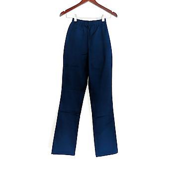 Denim & Co. leggings TXXS stretch Tall Boot Cut blauw A01725