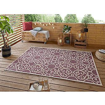 Design Indoor and Outdoor Rug Nebo Purple Taupe
