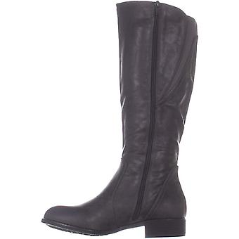 Style & Co. SC35 Milah Knee High Boots, Charcoal, 7.5 US