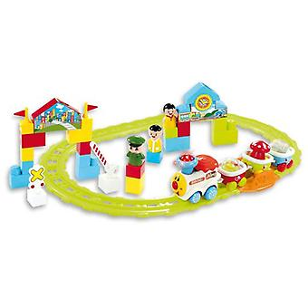 Bontoys Electronic train with rails (Babies and Children , Toys , Preschool , Vehicles)