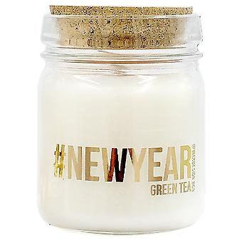 Wellindal Aromatic candle green tea #Newyear