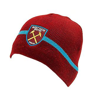 West Ham Fc Beanie Hat - Official Product
