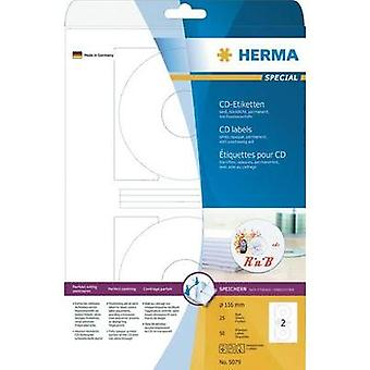 Etiquetas de CD de herma - 116 MM 50 ST