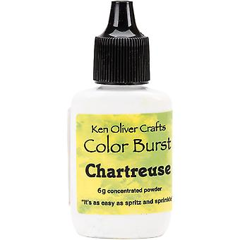 Ken Oliver Color Burst Powder 6gm-Chartreuse KNCPW-6200