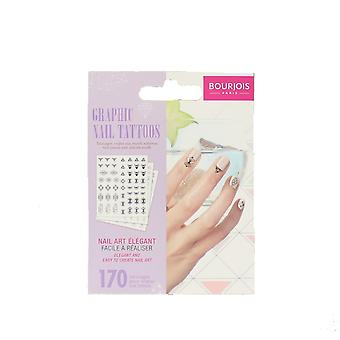 Bourjois Graphic Nail Tattoos 170 Nail Art Stickers