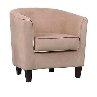 Sakal 1 Seater Tub Sofa Microfibre In Choice Of Colours