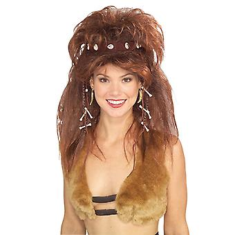 Cavewoman Headband Jungle Jane Prehistoric Women Costume Wig
