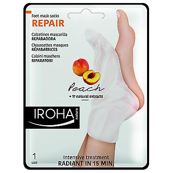 Iroha Nature Repair socks | Peach (Beauty , Body  , Hands and Feet , Moisturizers)