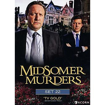Midsomer Murders: Set 22 [DVD] USA import