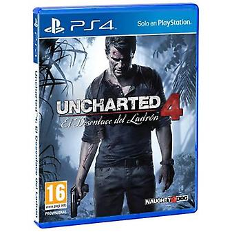 Sony Uncharted 4 Ps4 tyv (leker, Multimedia og elektronikk, videospill)