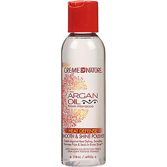 CREME de Nature huile d'Argan Gloss & Shine polissoir 4oz