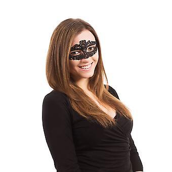 レースのアイマスク リボン ネクタイ スリム