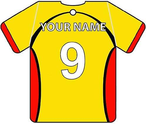 Gepersonaliseerde Watford Football Shirt luchtverfrisser