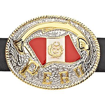 Iced out bling belt - goud / zilver