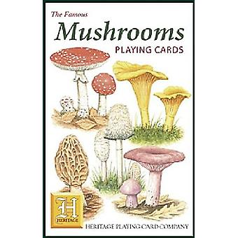 Mushrooms set of 52 playing cards (+ jokers)    (hpc)