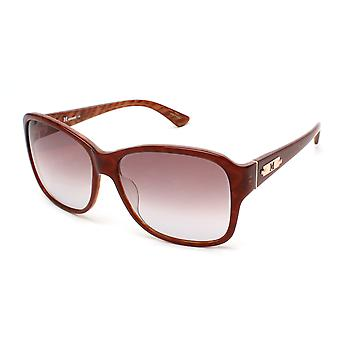 Missoni Women's Striped Oversized Sunglasses Brown