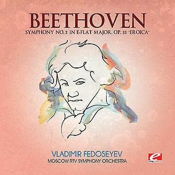 L.V. Beethoven - Beethoven: Symfoni nr 3 i E-Flat Major, Op. 55 'Eroica' [CD] USA import