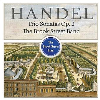 G.F. Händel - Händel: Trio sonater, Op. 2 [CD] USA import