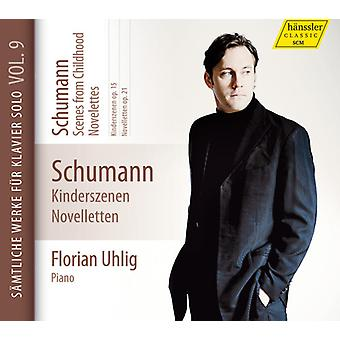 Schumann / Uhlig, Florian - Scenes From Childhood - Novelettes 9 [CD] USA import