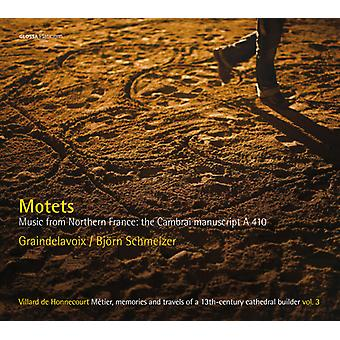 Anonymous / Graindelavoix / Schmelzer - Motets-Music From Northern France: Cambrai [CD] USA import