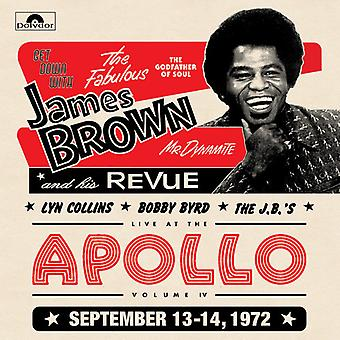 James Revue Brown - Live på Apollo 1972 [Vinyl] USA importen