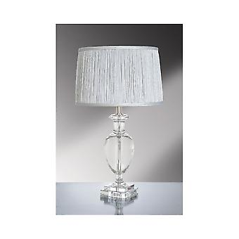 Luis Collection Antonia Crystal Clear Table Lamp