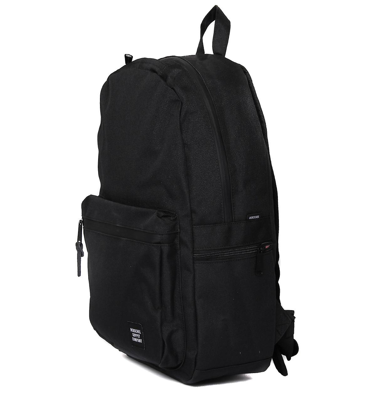 Herschel Harrison Black Canvas Classic Backpack