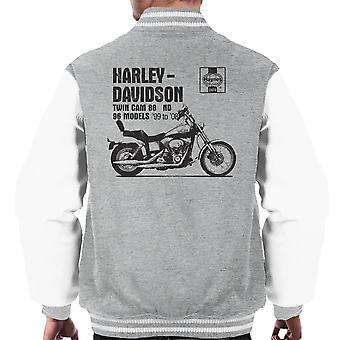 Haynes Besitzer Workshop manuelle 2478 Harley Davidson Twin Cam 88 ND Varsity Herrenjacke