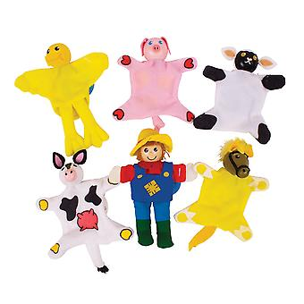 Bigjigs Toys Farm Finger Puppets