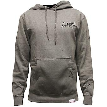 Diamant Supply Co Old Script Hoodie Heather