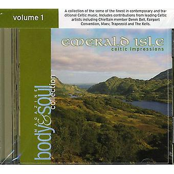 Kroppen & Soul Collection - krop & Soul Collection: Vol. 1-Emerald Isle: Celtic [CD] USA import