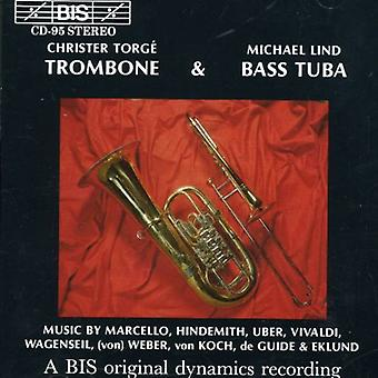 Trombone & Bass Tuba - Christer Torg  & Michael Lind [CD] USA import