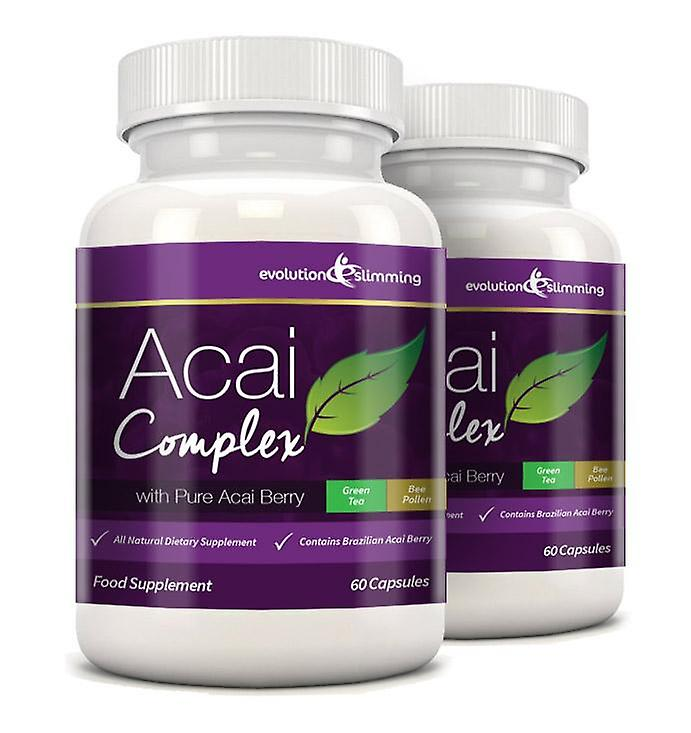 Acai Berry Complex 455mg - 120 Capsules (2 Month Supply) - Acai Berry - Evolution Slimming