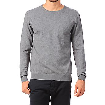 Jack and Jones PRM Crew Neck Grey Jumper