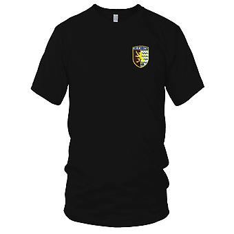 US Navy LST-836 USS Holmes County broderad Patch - Mens T Shirt