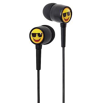 Groov-e EarMOJI Kids Earphones Cool Face (Model No. GVEMJ25)