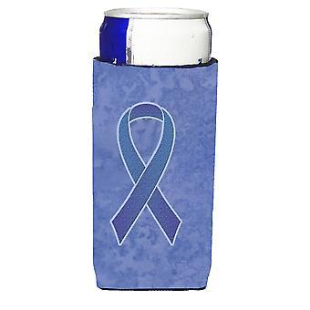 Immergrün blaue Band für Speiseröhre und Magen-Krebs Bewusstsein Ultra Kontinen