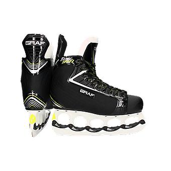 Count Super G103 V3 skate with T-blade system + lace free