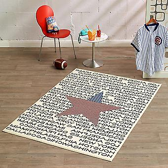 Design Velours Teppich City and Star 140x200 cm | 102331