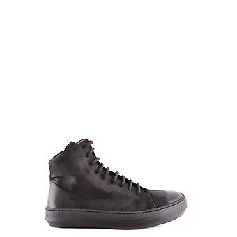 The last conspiracy men's TLC1685001 black leather ankle boots