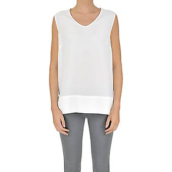 Gotha ladies MCGLTPT03020E white silk tank top