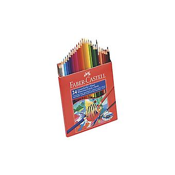 Redline Aquarelle pencil F-C 24/box