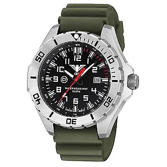 KHS watches mens watch steel KHS country leader. LANS. DO