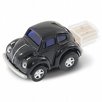 Oficial VW clásico Beetle Car USB Memory Stick 4Gb - negro
