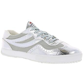 SUPERGA shoes low ladies silver