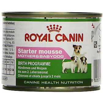 Royal Canin Dog Puppy food Starter Mousse 195 GR, 3 cans