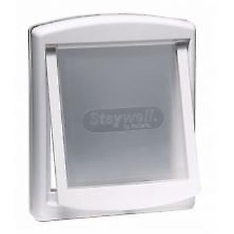Staywell 760 Pet Cat Dog Door White Large