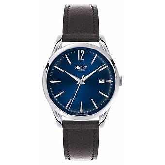 Henry London Knightsbridge Blue Dial - As Seen on TV HL39-S-0031 Watch